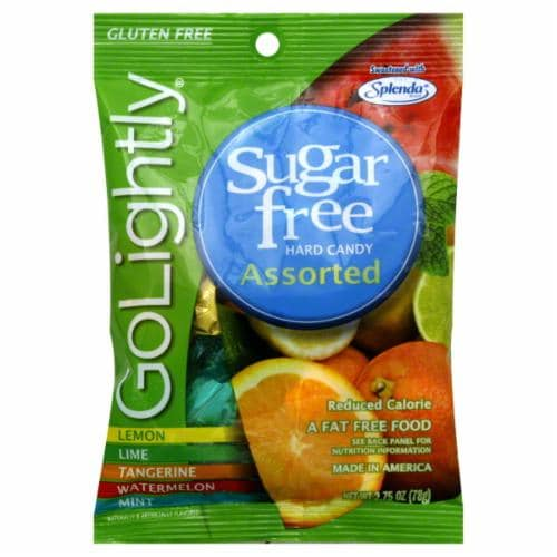 Go Lightly Sugar Free Assorted Hard Candy Perspective: front