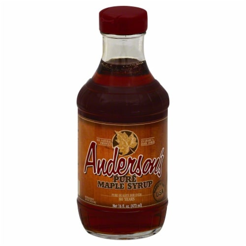 Anderson's Pure Maple Syrup Perspective: front