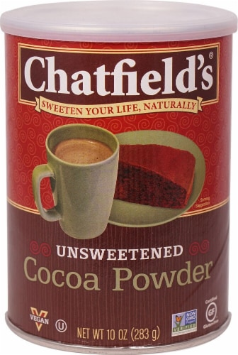 Chatfield's  Cocoa Powder Unsweetened Perspective: front