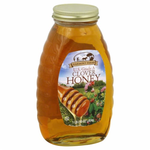 Harmony Farms Clover Honey Perspective: front