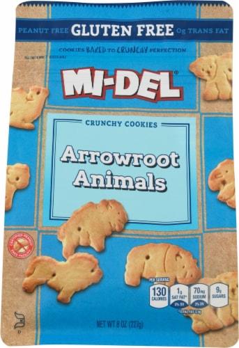 Mi-Del Gluten-Free Arrowroot Animal Cookies Perspective: front