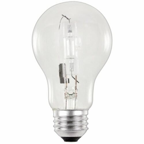 Westinghouse Eco 72 watt A19 A-Line Halogen Bulb 1,600 lumens 2 pk - Case Of: 6; Perspective: front