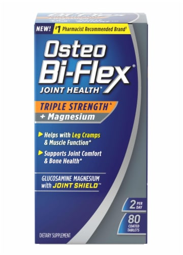 Osteo Bi-Flex Triple Strength + Magnesium Coated Tablets Perspective: front