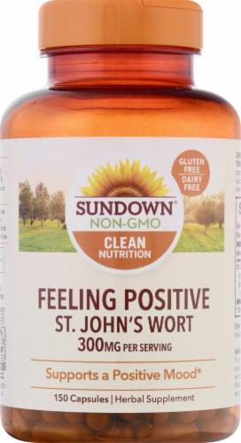 Sundown Naturals St. John's Wort Capsules Perspective: front