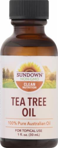 Sundown Naturals Tea Tree Oil Liquid Perspective: front