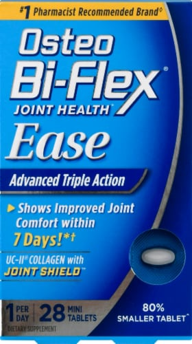 Osteo Bi-Flex Ease Advanced Triple Action Joint Health Mini Tablets Perspective: front