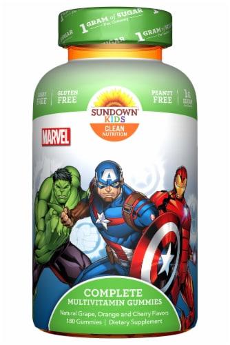 Sundown Naturals Kids Marvel Avengers Multivitamin Gummies Perspective: front
