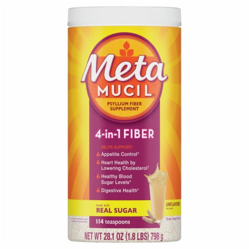 Metamucil COARSE Fiber Supplement Perspective: front