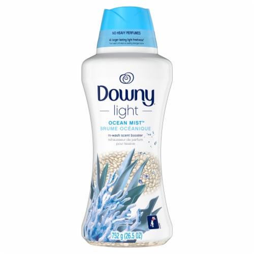 Downy Light Ocean Mist In-Wash Scent Booster Perspective: front