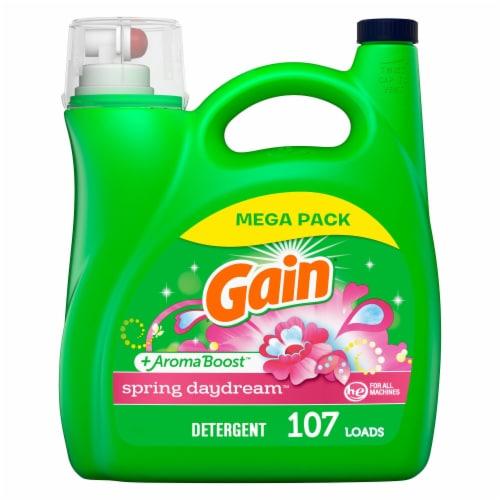Gain Spring Daydream Regular Liquid Laundry Detergent Perspective: front