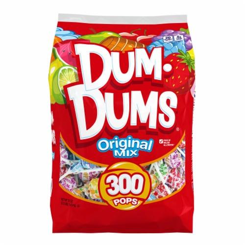 Dum Dums Original Assorted Flavor Lollipops 300 Count Perspective: front