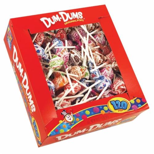 Dum Dum Pops Assorted Flavors (120-Count) 066 Perspective: front