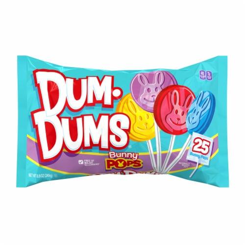 Dum Dums Bunny Pops Perspective: front
