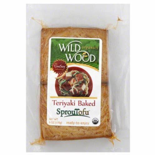 Wild Wood Organics Teriyaki Baked Sproutofu Perspective: front