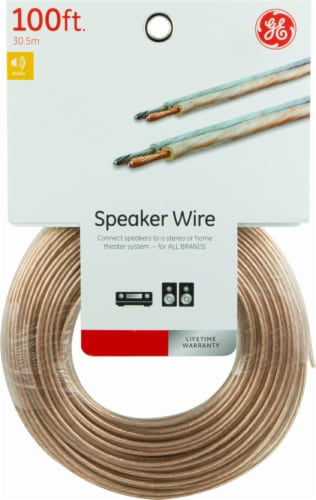 GE Copper Speaker Wire Perspective: front