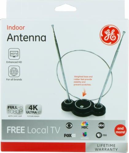 GE Indoor Antenna - Black Perspective: front