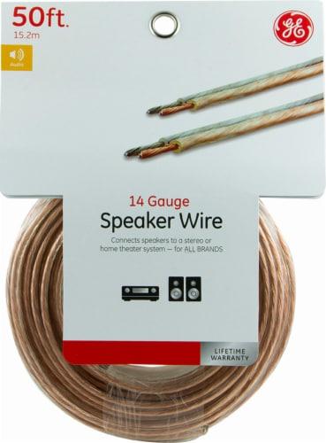 GE 14-Gauge Copper Speaker Wire Perspective: front