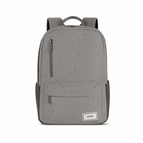 Solo Re:Cover Padded Backpack - Gray Perspective: front