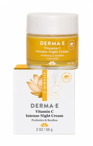 Derma-E Vitamin C Intense Night Cream Perspective: front