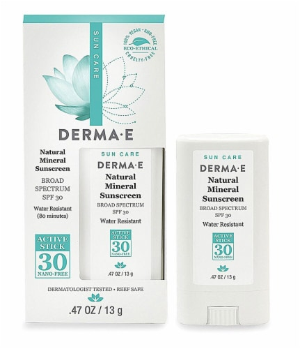 Derma-E Natural Mineral Sun Lotion Perspective: front