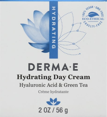 Derma-E Hydrating Day Creme with Hyaluronic Acid Perspective: front