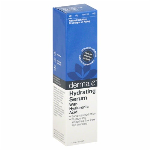 Derma-E Hydrating Serum Perspective: front