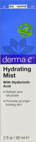 Derma-E Hydrating Mist Perspective: front