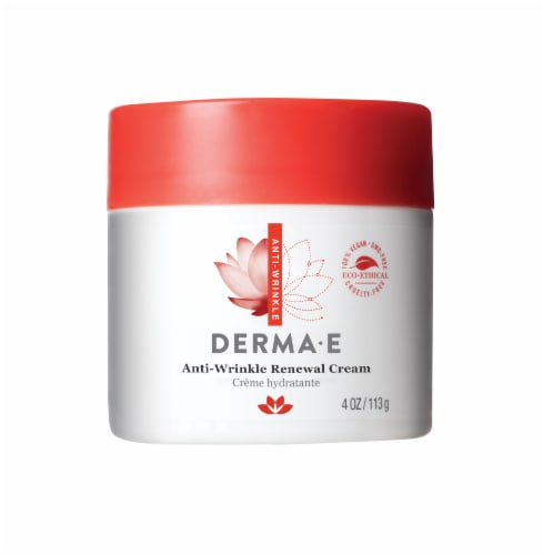 Derma-E Vitamin A Retinyl Palmitate Anti-Wrinkle Renewal Cream Perspective: front