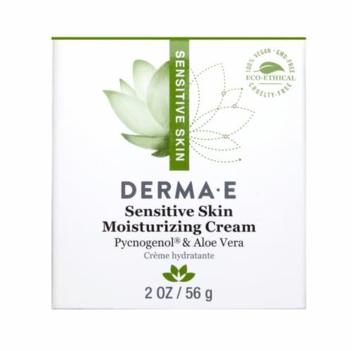 Derma-E Sensitive Skin Moisturizing Cream Perspective: front