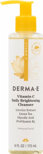 Derma-E Vitamin C Daily Brightening Cleanser Perspective: front