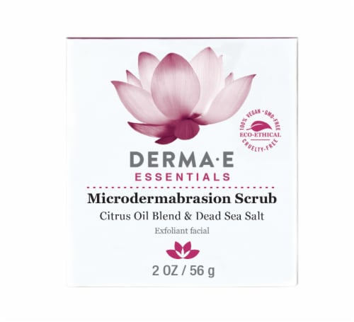Derma-E Microdermabrasion Scrub With Dead Sea Salt Perspective: front