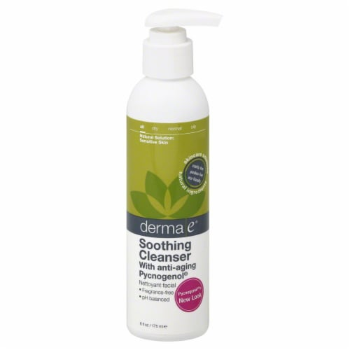 Derma-E Soothing Cleanser Perspective: front