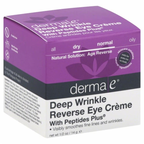 Derma-E Deep Wrinkle Reverse Eye Creme Perspective: front