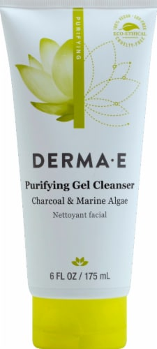 Derma-E Purifying Gel Cleanser Perspective: front
