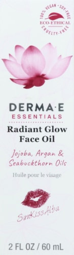 Derma-E Essentials Radiant Glow Face Oil Perspective: front