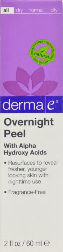 Derma-E Evenly Radiant Overnight Peel Perspective: front