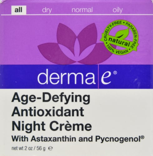 Derma-E Age-Defying Antioxidant Night Creme Perspective: front