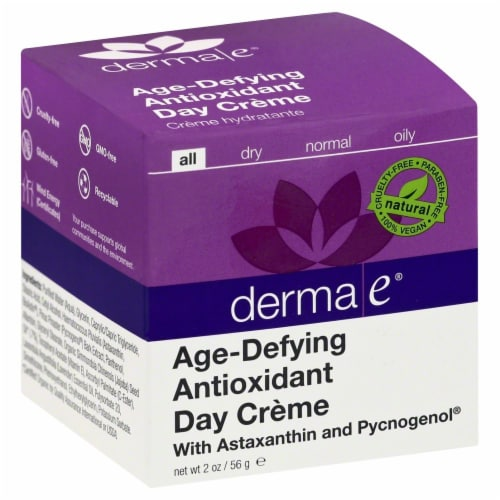 Derma-E Age-Defying Antioxidant Day Creme Perspective: front