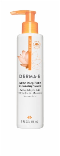 Derma-E Acne Deep Pore Cleansing Wash Perspective: front