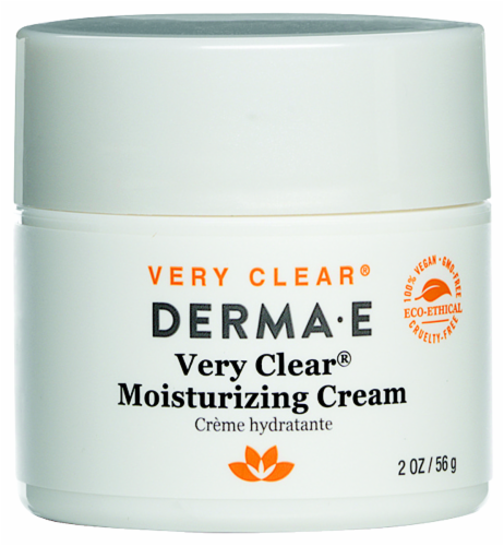 Derma-E Very Clear Moisturizing Cream Perspective: front