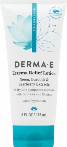Derma-E Eczema Relief Lotion Perspective: front