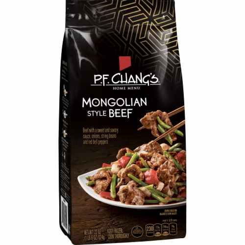P.F. Chang's Home Menu Mongolian Style Beef Skillet Meal Perspective: front