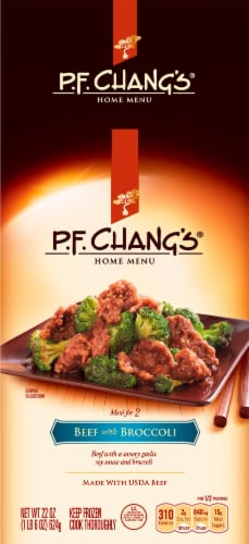 P.F. Chang's Home Menu Beef with Broccoli Skillet Meal Perspective: front