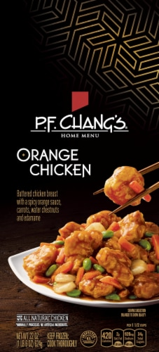 P.F. Chang's Home Menu Orange Chicken Skillet Meal Perspective: front