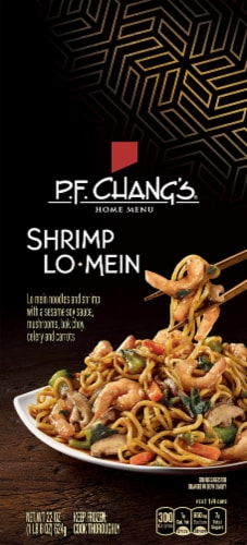 P.F. Chang's Home Menu Shrimp Lo Mein Skillet Meal Perspective: front
