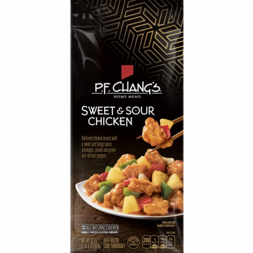 P.F. Chang's Home Menu Sweet & Sour Chicken Skillet Meal Perspective: front