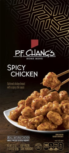 P.F. Chang's Home Menu Spicy Chicken Frozen Meal Perspective: front
