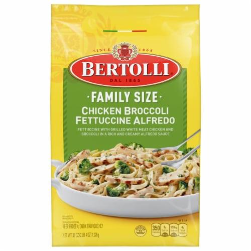 Bertolli Chicken Broccoli Fettuccine Alfredo Family Size Perspective: front