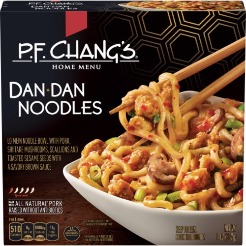 P.F. Chang's Home Menu Pork Dan Dan Noodles Perspective: front