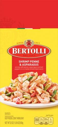 Bertolli Shrimp Penne & Asparagus Frozen Skillet Meal Perspective: front